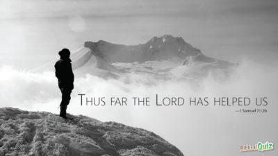 1 Samuel 7.12