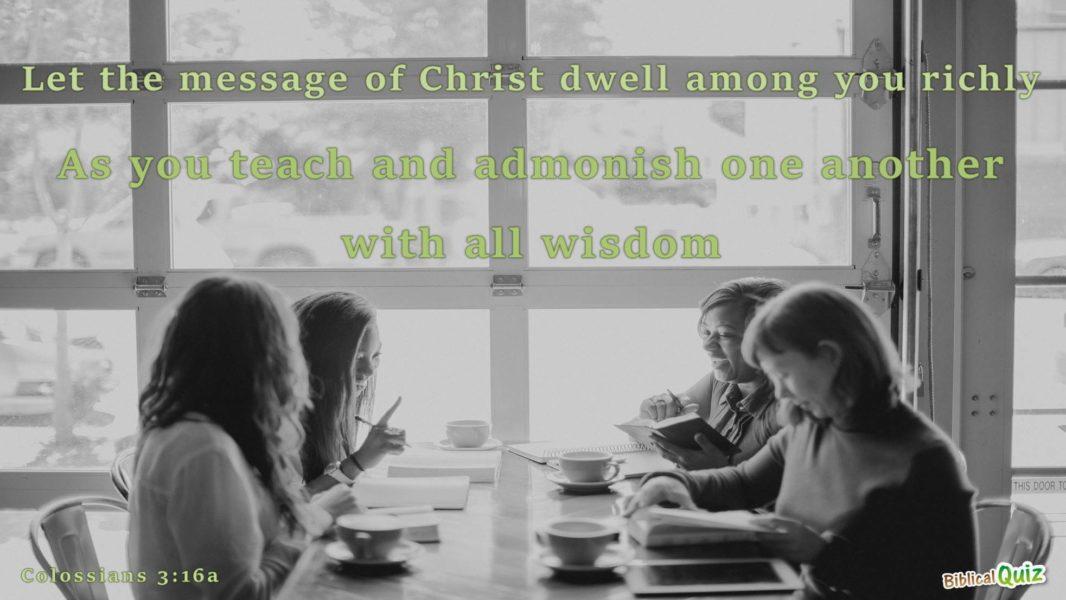 Colossians 3.16