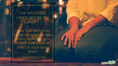 Ephesians 3.14-16