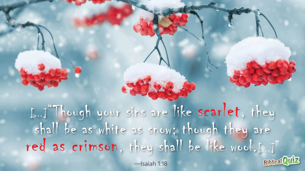 Isaiah 1.18