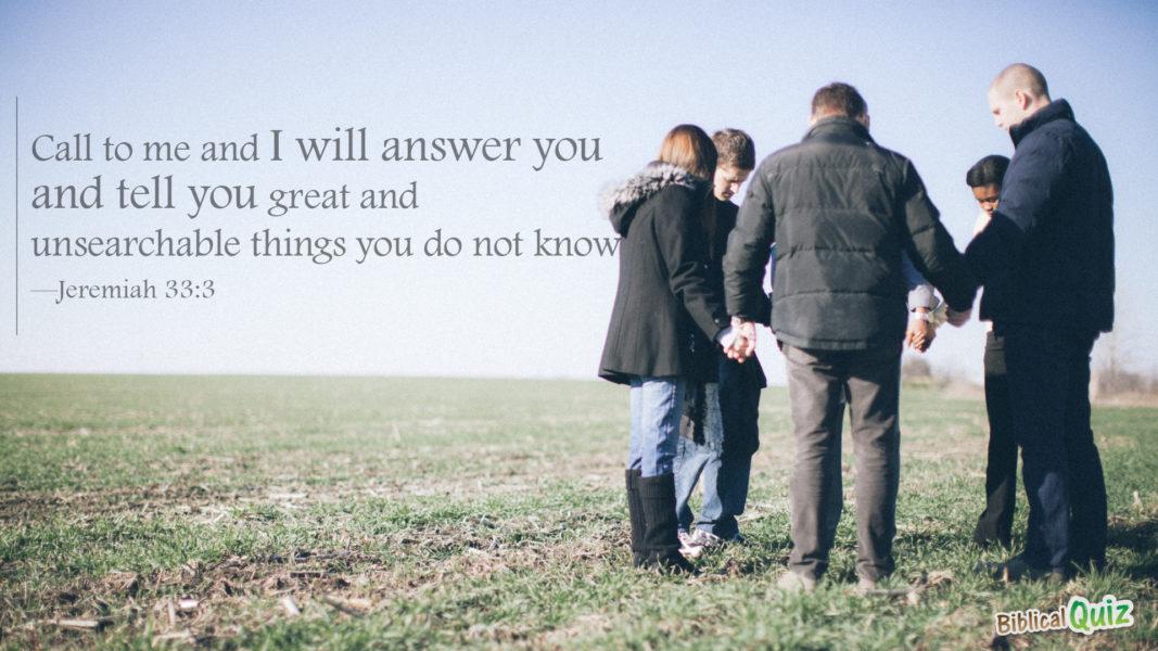 Jeremiah 33.3
