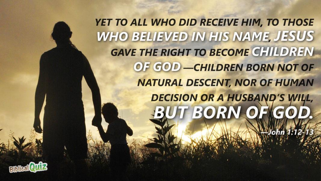 John 1.12-13