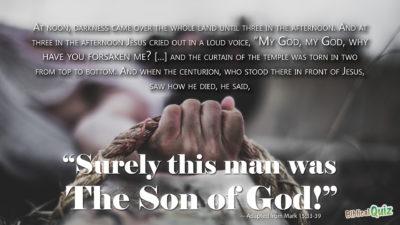 Mark 15.33-39
