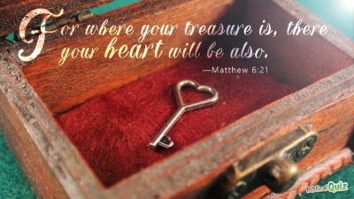 Matthew 6.21