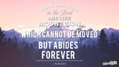 Psalm 125.1