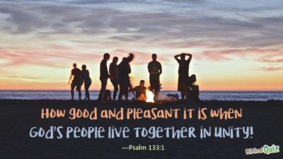 Psalm 133.1