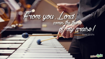 Psalm 22.25