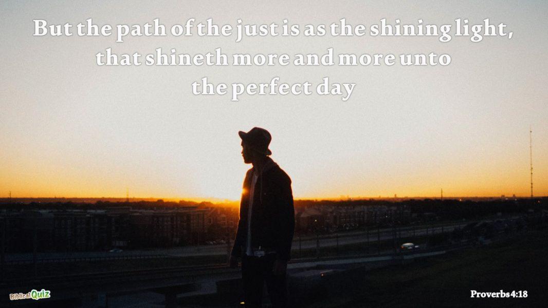 Proverbs 4.18