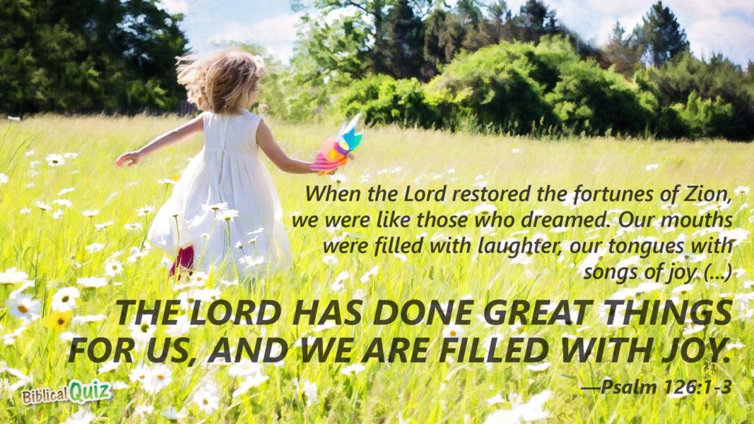 Psalm 126.1-3