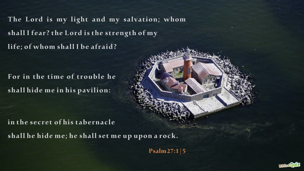 Psalm 27.1-5
