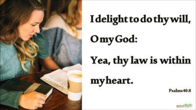Psalm 40.8