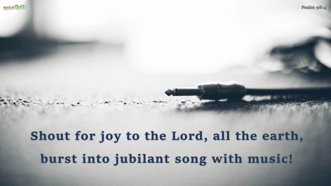 Psalm 98.4
