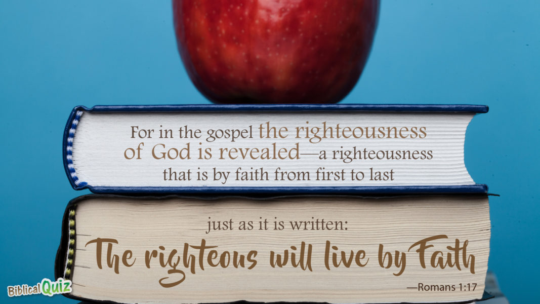 Romans 1.17