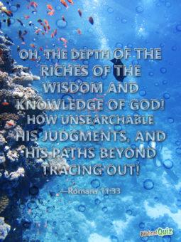 Romans 11.33