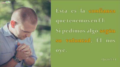1 Juan 5.14