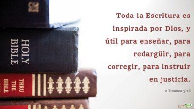 2 Timoteo 3.16