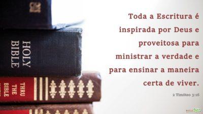 2 Timóteo 3.16