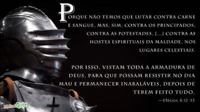 Efésios 6.12-13