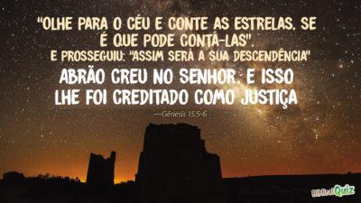 Gênesis 15.5-6