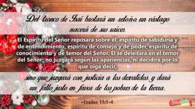 Isaías 11.1-4