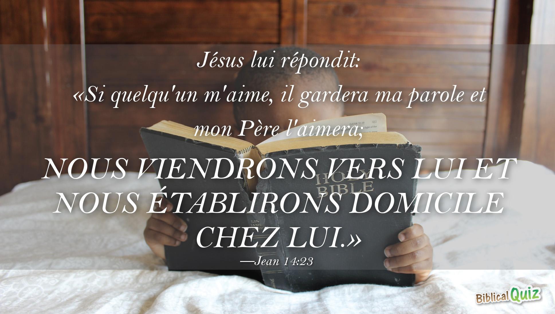 Jean 14.23 - Biblical Promises