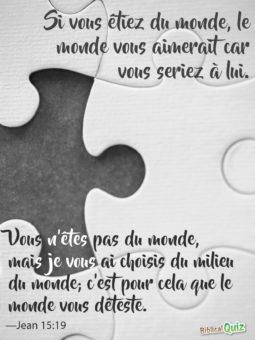 Jean 15.19