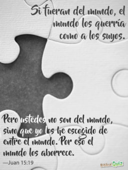 Juan 15.19