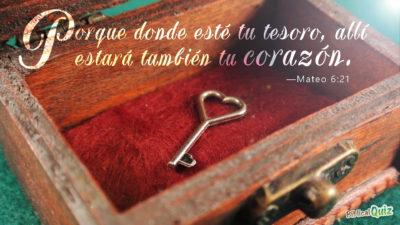 Mateo 6.21