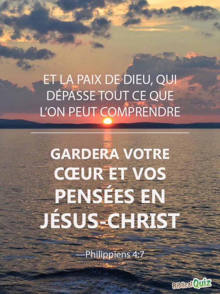 Philippiens 4.7 - Biblical Promises