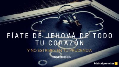 Proverbios 3.5