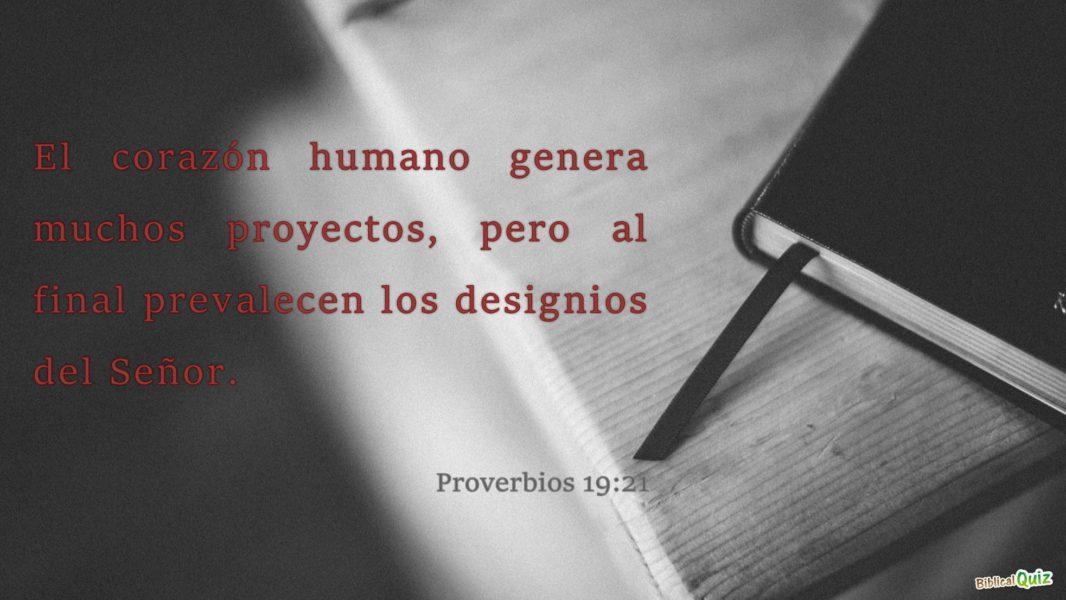 Proverbios 19.21