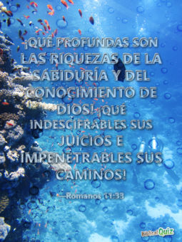 Romanos 11.33